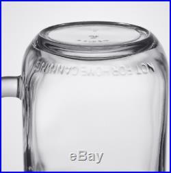 (12-Pack) 16 oz. Libbey Glass Mason Jars / Drinking Jars with Handle
