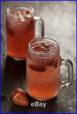 12 X Kilner Clear Handled Jar Beer Christmas Cocktails Pimms Juice 540ml