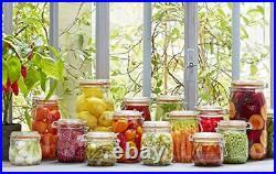 1 Le Parfait Super Jar Wide Mouth French Glass Preserving Jars Zero Waste