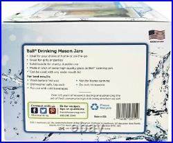 Ball Mason Jar 24oz Drinking Jars 4 Pack #16011
