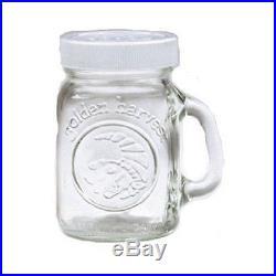 Ball Mason Jar Glass Salt or Pepper Shaker with Handle 4oz