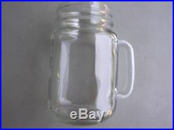 Bridal Glass Set 14 Cases (168 Jars) Mason Clear Drinking Glasses with Handles