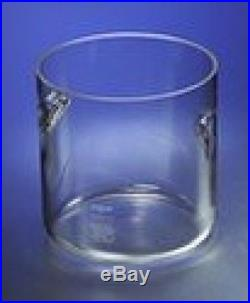 Corning Pyrex Borosilicate Glass Cylindrical Jar With Recessed Handles, 305mm X