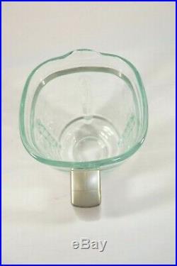 Cuisinart 6 Cup 50 Oz. Glass Blender Jar LID Pitcher Square Chrome Handle CB500