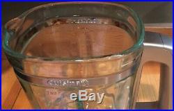 Cuisinart 6 Cup 50 Oz. Glass Blender Jar Pitcher Square Chrome Handle CB600