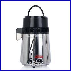 Detal Water Distiller Machine Stainless Steel Distilled Purifie 110V With Handle