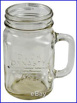 Duck Dynasty Mason Jar Handle Mug Licensed A&E Duck Commander Si Phil Robertson