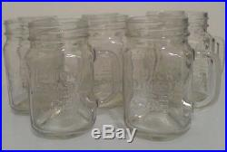 Duck Dynasty Mason Jar Handle Mug Set Of 8, Officially Licensed A&E