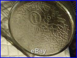 \Duraglas Barrel-Shaped No. 10 Glass Jar Wood Handle 68