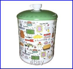 FRIENDS THE TV SERIES CENTRAL PERK NYC Show Memories Ceramic Cookie Jar NEW