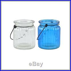 LOT of 24 Vintage Style Yankee Candle Mason Jars with Wire Handles