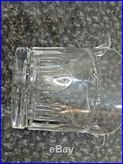 La Maison France Crystal 5.5 Bucket/Jar with Double Handles