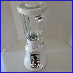Mint Viking Professional Blender VBLG01 WHITE 40 oz. Glass Jar 2 Speeds + Pulse