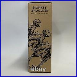 Monkey Shoulder Scotch Whisky Collectors Mason Jar X 2 Drinking Glass BRAND NEW