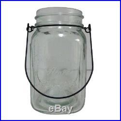 New 825443 Mason Jar Glass W- Handle 5.5 X 3In (24-Pack) Others Fancy Shape