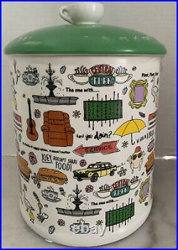 New FRIENDS THE TV SERIES CENTRAL PERK NYC Show Memories Ceramic Cookie Jar