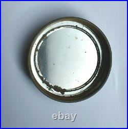 Rare Vintage Textured One Gallon Hazel Atlas Glass Jar Metal Handle Dee's Lid