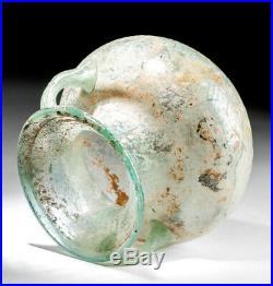 Roman Glass Jar with Twin Handles