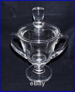 Steuben Teardrop Handled Jar/urn