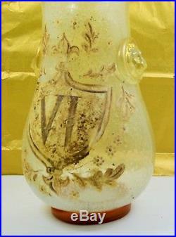 Mercury glass apothecary
