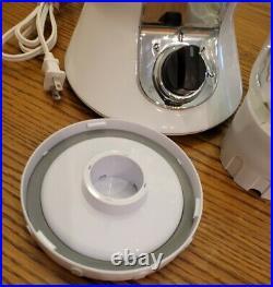Viking Professional Blender VBLG01 ALL WHITE 40 oz. Glass Jar 2 Speeds + Pulse