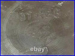 Vintage BALL (Mason) One Gallon Glass Jug Jar Bottle Finger Loop Handle With Lid