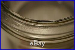 Vintage Electric Spee-dee Mixer Red Bakelite Handle Glass Jar WORKS